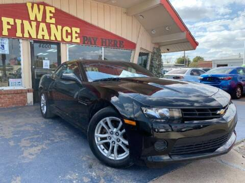2014 Chevrolet Camaro for sale at Caspian Auto Sales in Oklahoma City OK