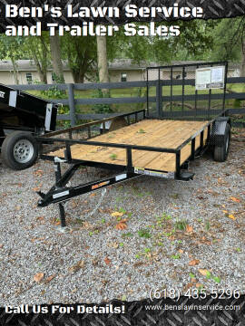2022 Doolittle RS77X123K for sale at Ben's Lawn Service and Trailer Sales in Benton IL
