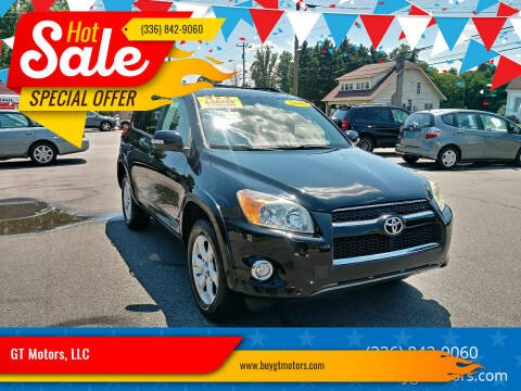 2010 Toyota RAV4 for sale at GT Motors, LLC in Elkin NC