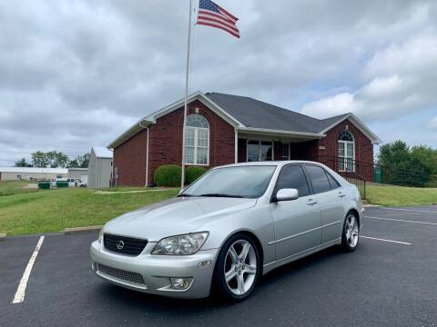 2001 Lexus IS 300 for sale at HillView Motors in Shepherdsville KY
