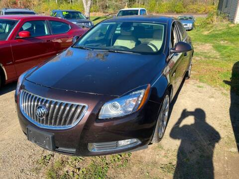2011 Buick Regal for sale at Richard C Peck Auto Sales in Wellsville NY