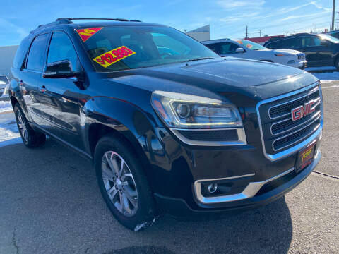 2014 GMC Acadia for sale at Top Line Auto Sales in Idaho Falls ID