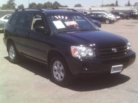 2003 Toyota Highlander for sale at Valley Auto Sales & Advanced Equipment in Stockton CA