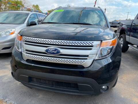 2012 Ford Explorer for sale at BEST AUTO SALES in Russellville AR