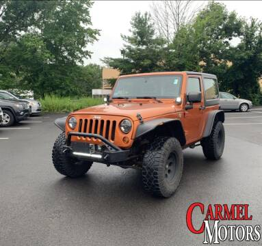 2011 Jeep Wrangler for sale at Carmel Motors in Indianapolis IN