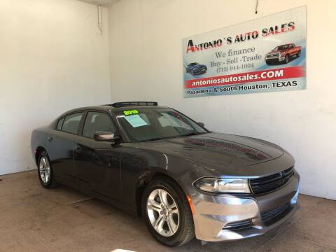 2019 Dodge Charger for sale at Antonio's Auto Sales in South Houston TX