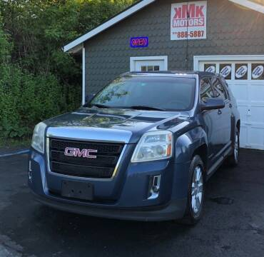 2011 GMC Terrain for sale at KMK Motors in Latham NY
