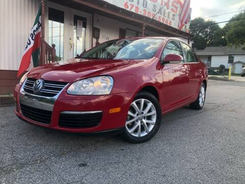 2010 Volkswagen Jetta for sale at Atlas Auto Sales in Smyrna GA