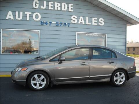2008 Honda Civic for sale at GJERDE AUTO SALES in Detroit Lakes MN