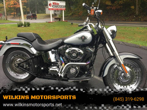 2014 Harley-Davidson Fat Boy for sale at WILKINS MOTORSPORTS in Brewster NY