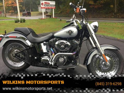 2014 Harley-Davidson Fat Boy for sale at WILKINS MOTORSPORTS in Brewster NY