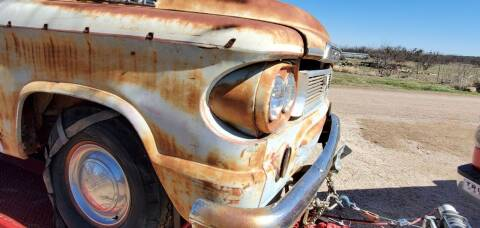 1960 Dodge RAM 100 for sale at CLASSIC MOTOR SPORTS in Winters TX