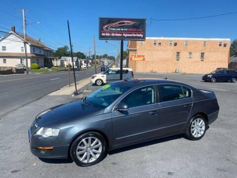 2010 Volkswagen Passat for sale at Fineline Auto Group LLC in Harrisburg PA