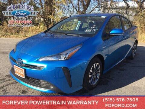 2021 Toyota Prius for sale at Fort Dodge Ford Lincoln Toyota in Fort Dodge IA