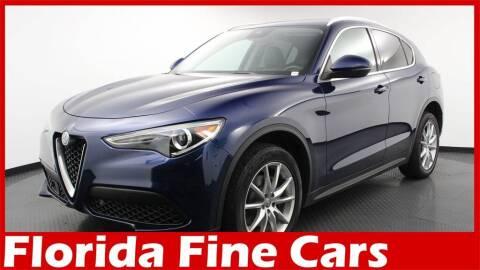 2018 Alfa Romeo Stelvio for sale at Florida Fine Cars - West Palm Beach in West Palm Beach FL