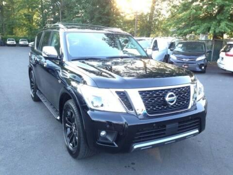 2019 Nissan Armada for sale at EMG AUTO SALES in Avenel NJ