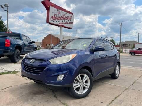 2013 Hyundai Tucson for sale at Southwest Car Sales in Oklahoma City OK