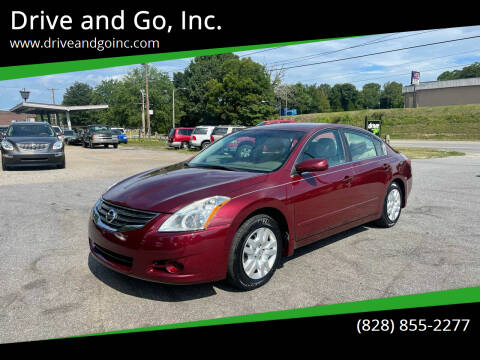 2012 Nissan Altima for sale at Drive and Go, Inc. in Hickory NC