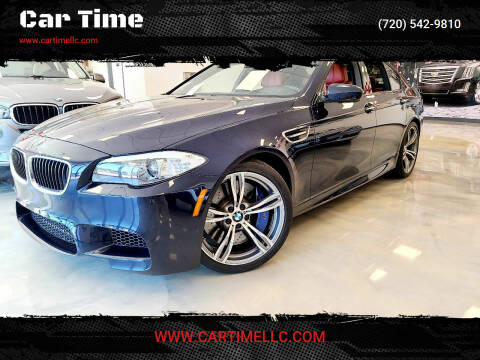 2013 BMW M5 for sale at Car Time in Denver CO