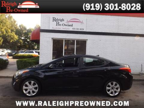 2012 Hyundai Elantra for sale at Raleigh Pre-Owned in Raleigh NC