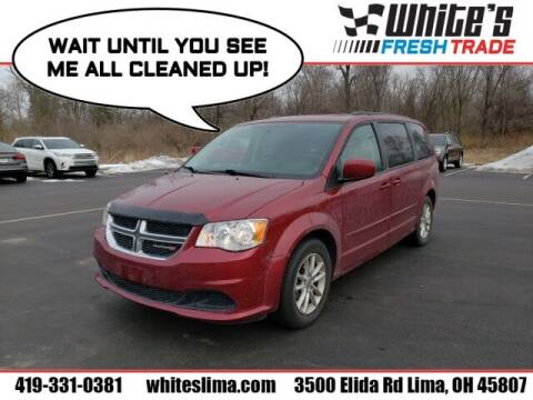 2014 Dodge Grand Caravan for sale at White's Honda Toyota of Lima in Lima OH
