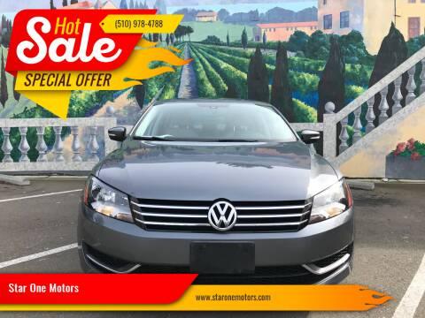 2013 Volkswagen Passat for sale at Star One Motors in Hayward CA