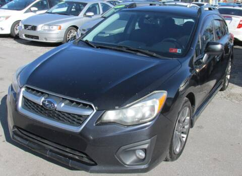 2012 Subaru Impreza for sale at Express Auto Sales in Lexington KY