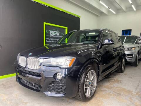 2016 BMW X3 for sale at GCR MOTORSPORTS in Hollywood FL