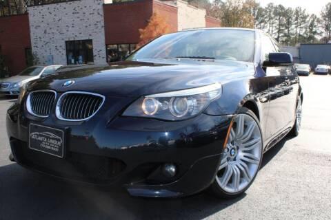 2008 BMW 5 Series for sale at Atlanta Unique Auto Sales in Norcross GA