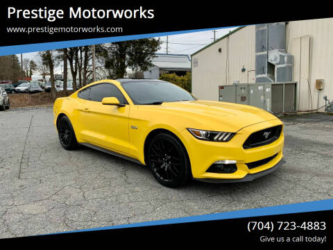 2016 Ford Mustang for sale at Prestige Motorworks in Concord NC