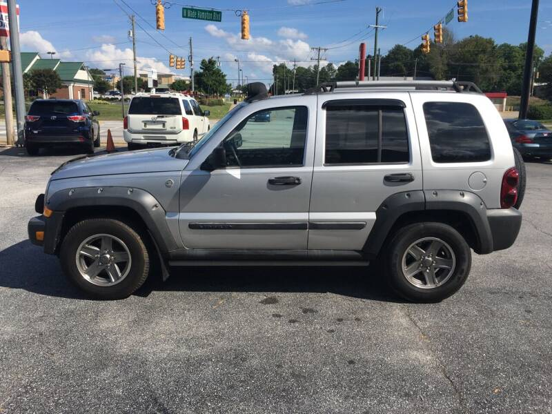 2005 Jeep Liberty for sale at STAN EGAN'S AUTO WORLD, INC. in Greer SC