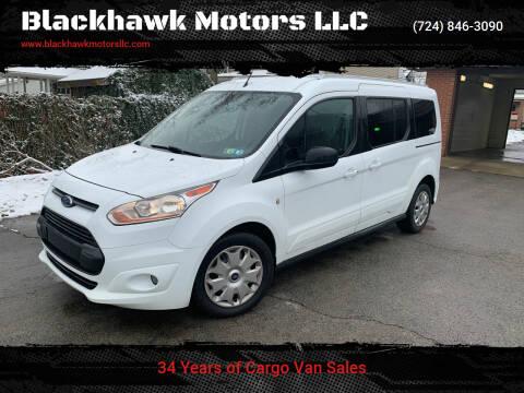 2017 Ford Transit Connect Wagon for sale at Blackhawk Motors LLC in Beaver Falls PA