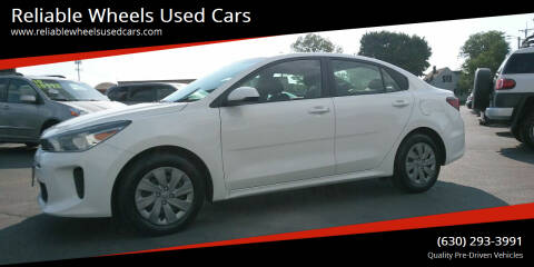 2019 Kia Rio for sale at Reliable Wheels Used Cars in West Chicago IL