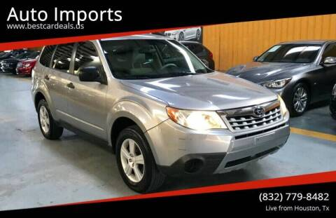 2011 Subaru Forester for sale at Auto Imports in Houston TX