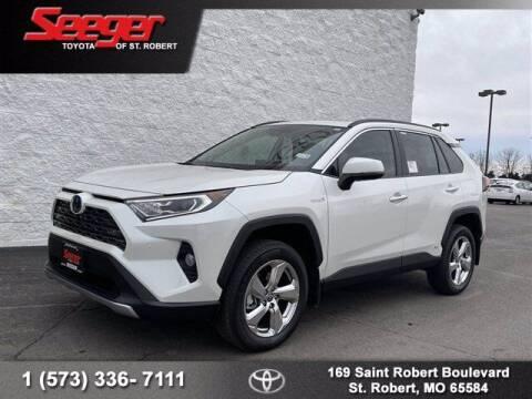 2021 Toyota RAV4 Hybrid for sale at SEEGER TOYOTA OF ST ROBERT in St Robert MO