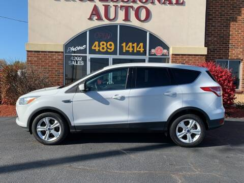 2016 Ford Escape for sale at Professional Auto Sales & Service in Fort Wayne IN