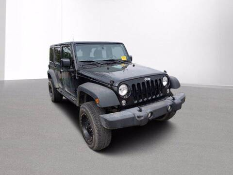 2017 Jeep Wrangler Unlimited for sale at Jimmys Car Deals in Livonia MI