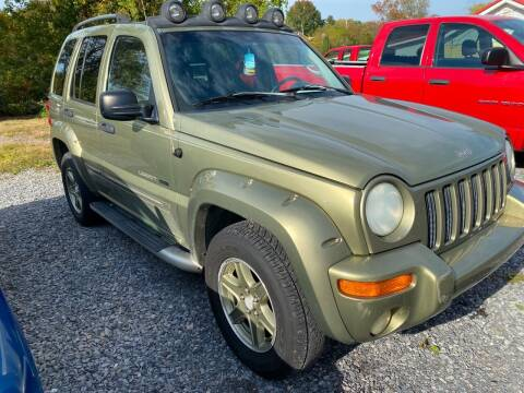 2002 Jeep Liberty for sale at Rocket Center Auto Sales in Mount Carmel TN