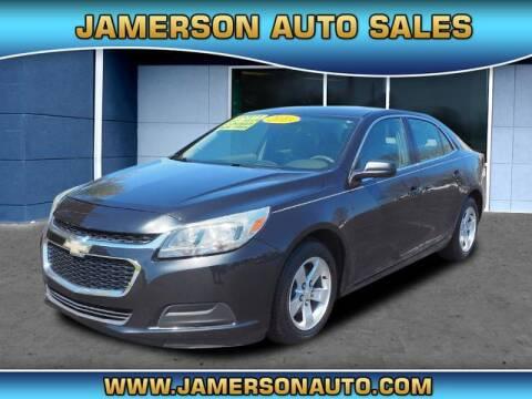 2015 Chevrolet Malibu for sale at Jamerson Auto Sales in Anderson IN