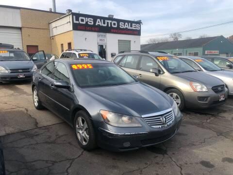 2005 Acura RL for sale at Lo's Auto Sales in Cincinnati OH