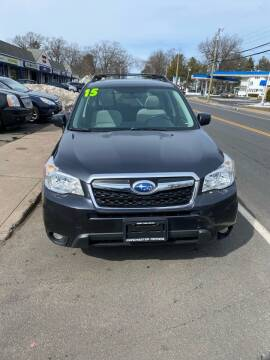 2015 Subaru Forester for sale at Manchester Motors in Manchester CT