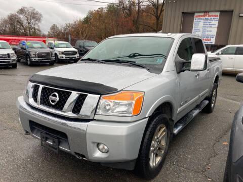 2015 Nissan Titan for sale at 222 Newbury Motors in Peabody MA