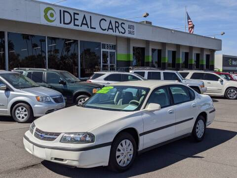 2004 Chevrolet Impala for sale at Ideal Cars in Mesa AZ
