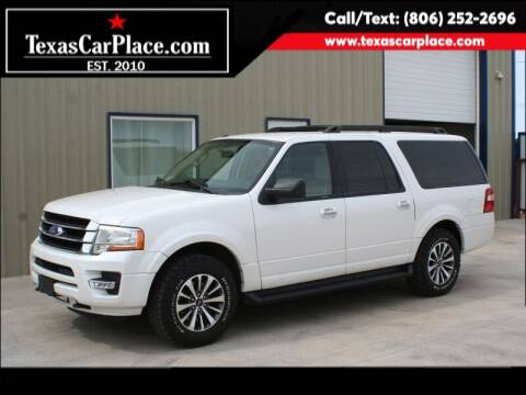 2015 Ford Expedition EL for sale at TEXAS CAR PLACE in Lubbock TX