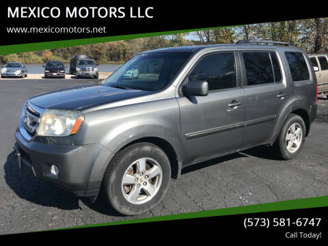 2009 Honda Pilot for sale at MEXICO MOTORS LLC in Mexico MO