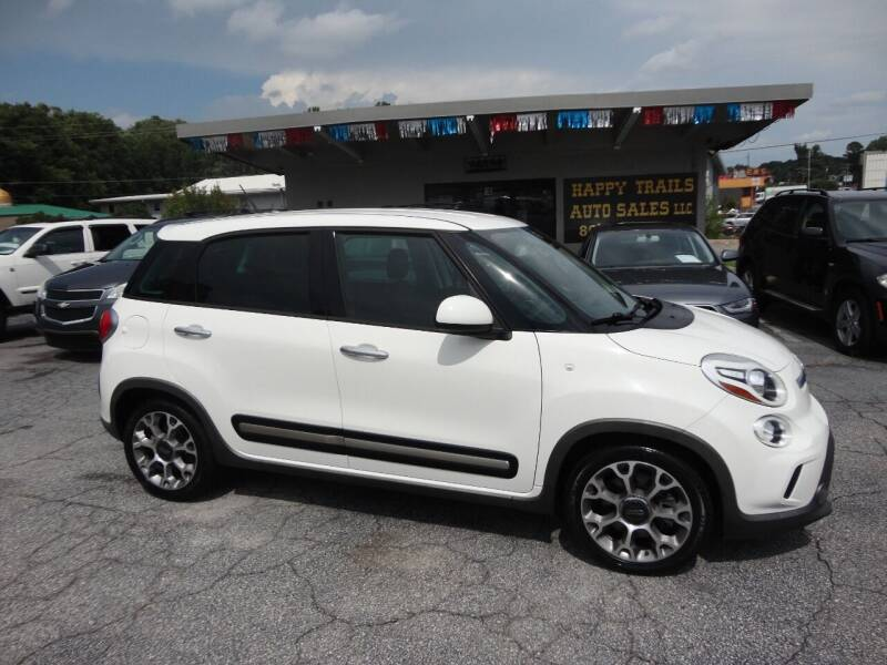 2014 FIAT 500L for sale at HAPPY TRAILS AUTO SALES LLC in Taylors SC