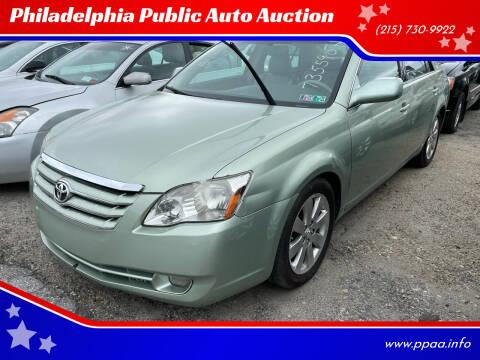 2006 Toyota Avalon for sale at Philadelphia Public Auto Auction in Philadelphia PA