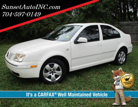 2004 Volkswagen Jetta for sale at Sunset Auto in Charlotte NC
