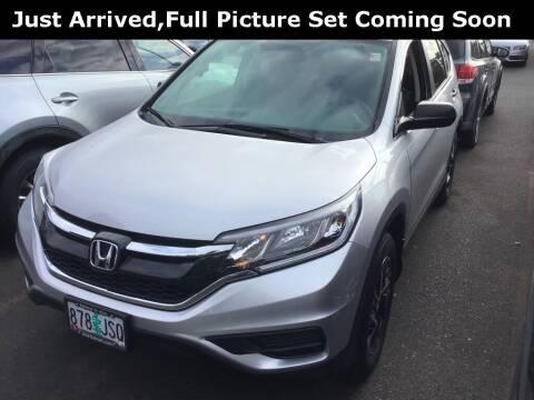 2016 Honda CR-V for sale at Royal Moore Custom Finance in Hillsboro OR
