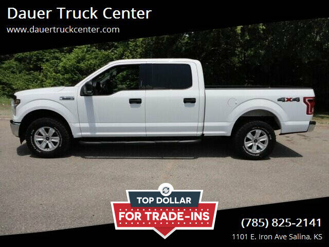 2017 Ford F-150 for sale at Dauer Truck Center in Salina KS